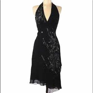 BCBGMaxAzria HALTER DRESS Size 8